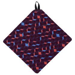 Lingette de nettoyage microfibre CLEAN 100 violet foncé