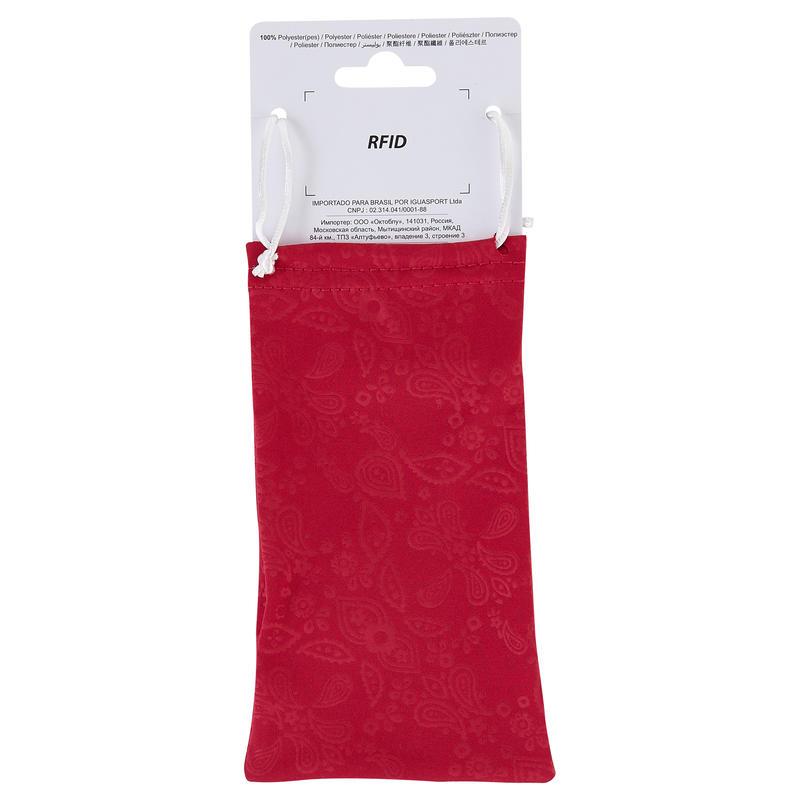 Túi đựng kính mềm bằng vi sợi tổng hợp Case 100 - Hồng