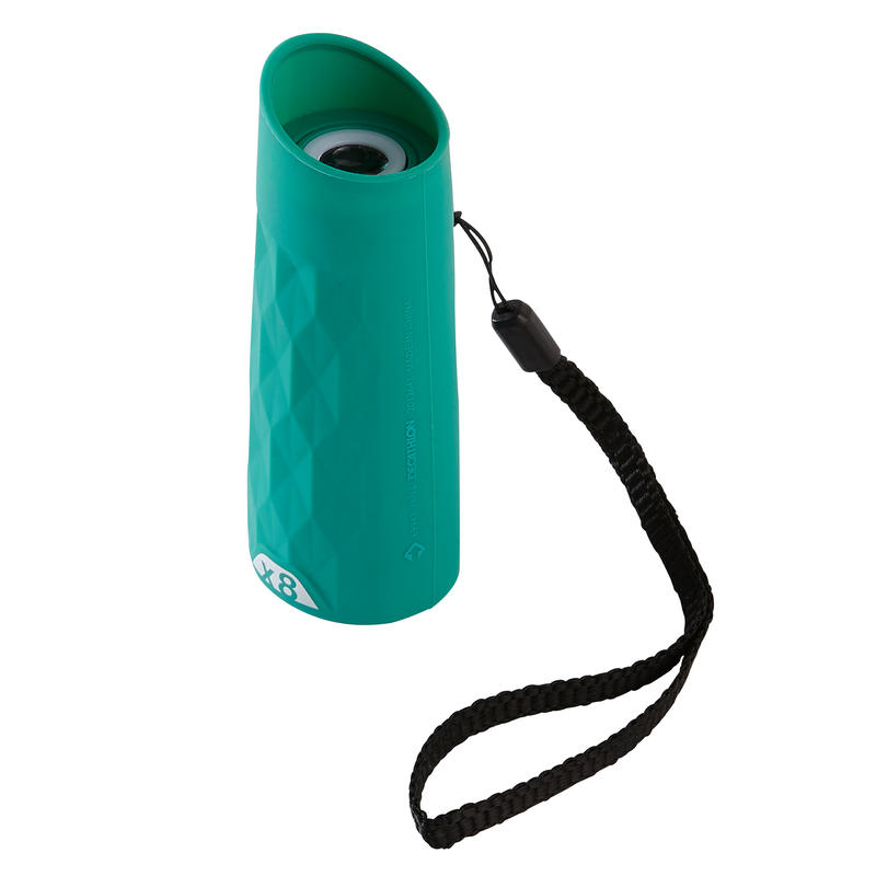 MH M 120 Children's Hiking Monoculars x8 Magnification without adjustment-Green