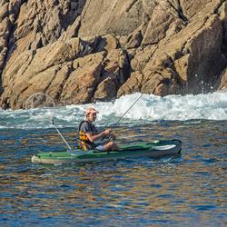 Canoë Kayak de pêche Bilbao Fishing vert 1 place