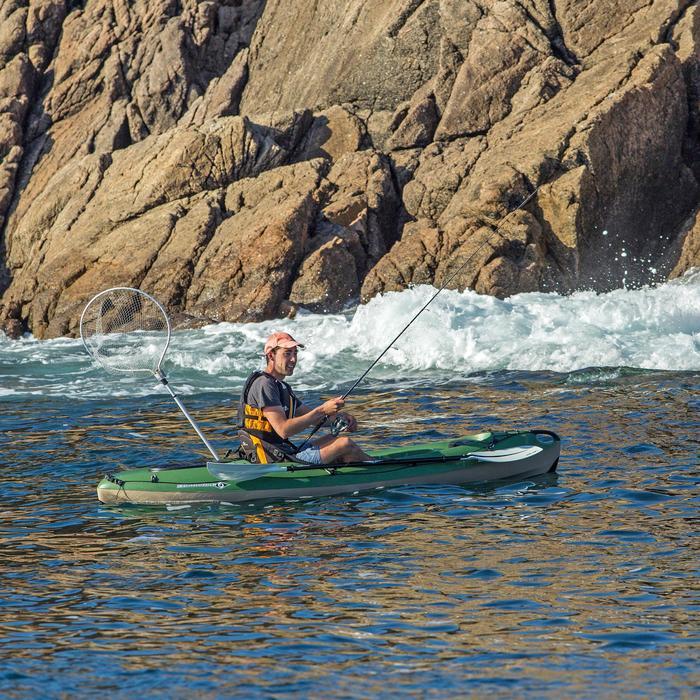Hengelkajak Bilbao Fishing groen 1-persoons