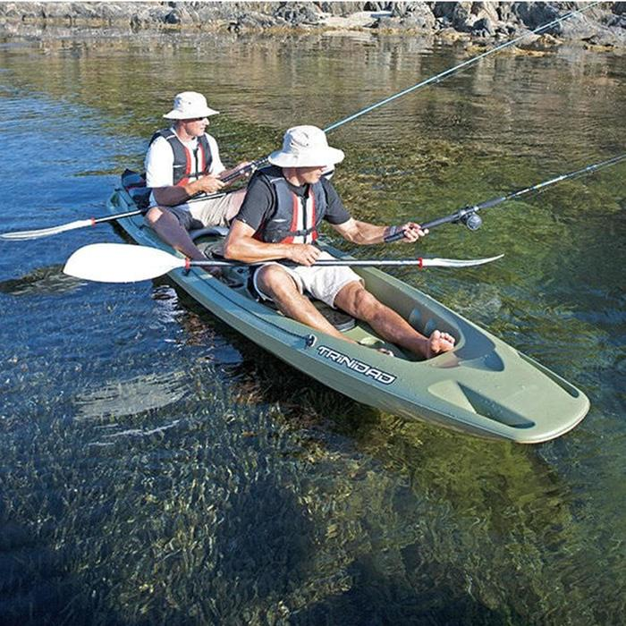 Canoê Kayak de pêche Trinidad fishing vert 2 places - 1134207