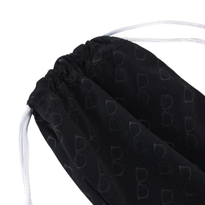 Etui tissu nettoyant microfibre pour lunettes CASE 120 noir