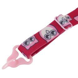 Cordon lunettes de soleil enfant réglable STRAP HOOK 500 rose