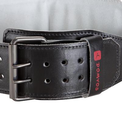حزام قطني لتدريب رفع الأثقال - الجلد