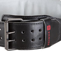 Weight Training Lumbar Belt Leather