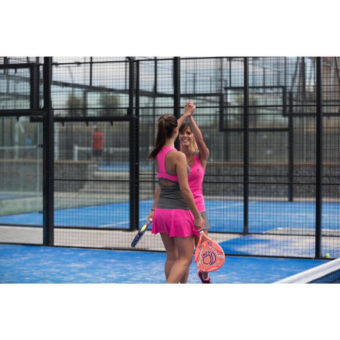 Tennisrock SK Light 900 Damen rosa/kaki