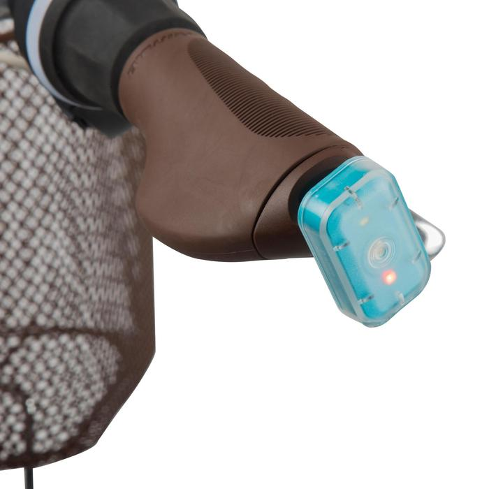Poignées city 500 ergonomiques marron