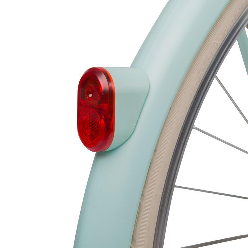 Elops Rear Dynamo Bike Light - Light Blue