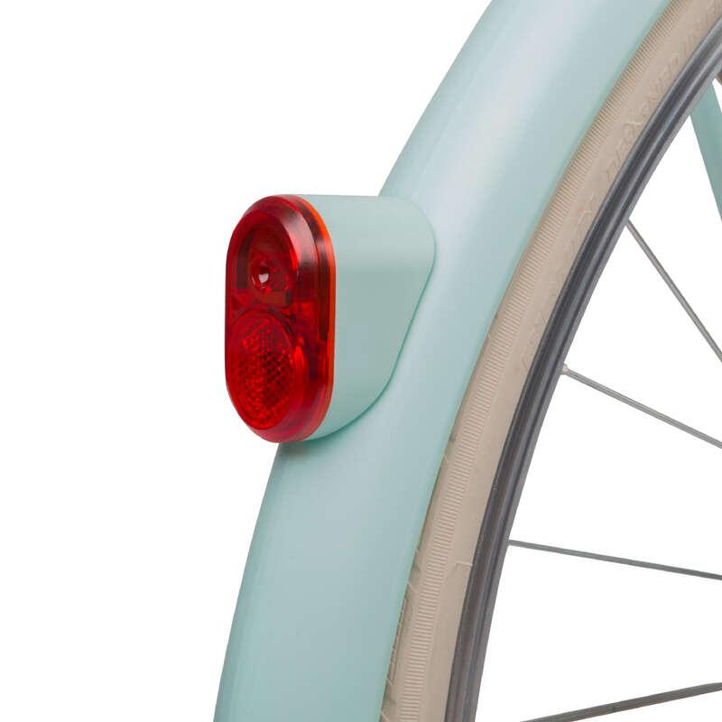 Kiegészítő alkatrészek Kerékpározás - Hátsó lámpa, dinamós WORKSHOP - Kerékpár kiegészítők