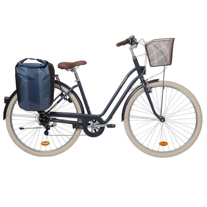 Fahrradtasche 500 für Gepäckträger wasserdicht 20 L blau