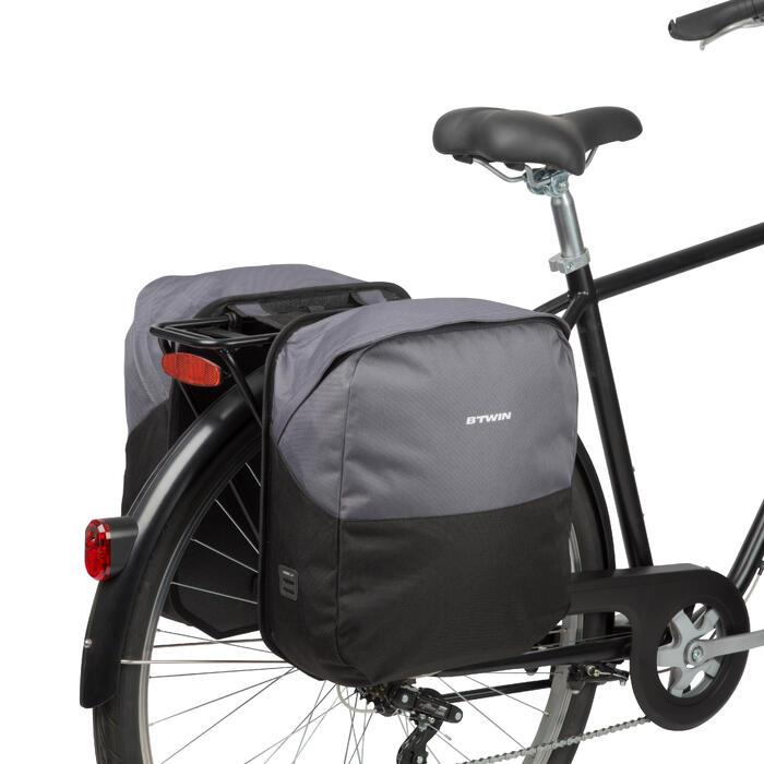 Dubbele fietstas 100 2 x 15 l