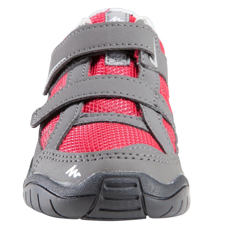 Giày leo núi dã ngoại Arpenaz 50 cho trẻ em - Hồng