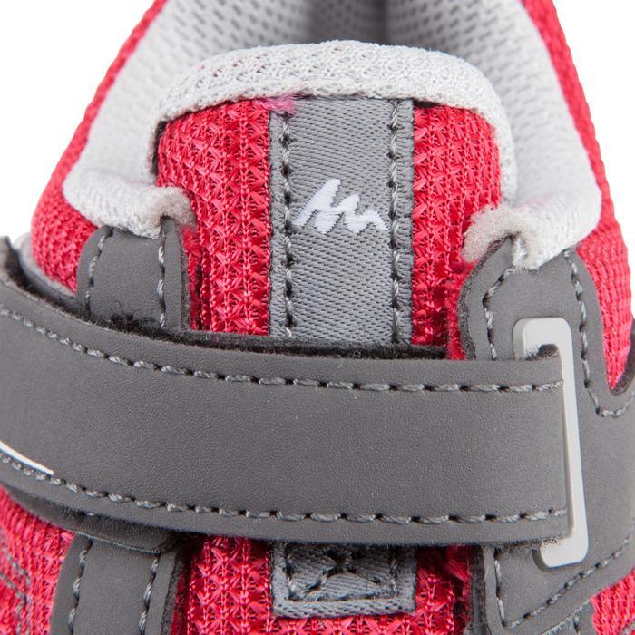 Chaussures de randonnée enfant Arpenaz 50 scratch rose