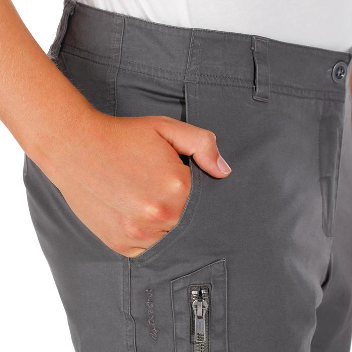 Pantalón de senderismo en la naturaleza mujer NH500 Gris