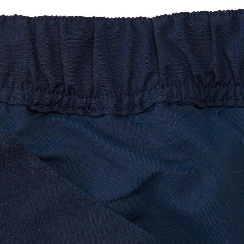 Falda-pantalón senderismo en la naturaleza mujer NH100 azul marino