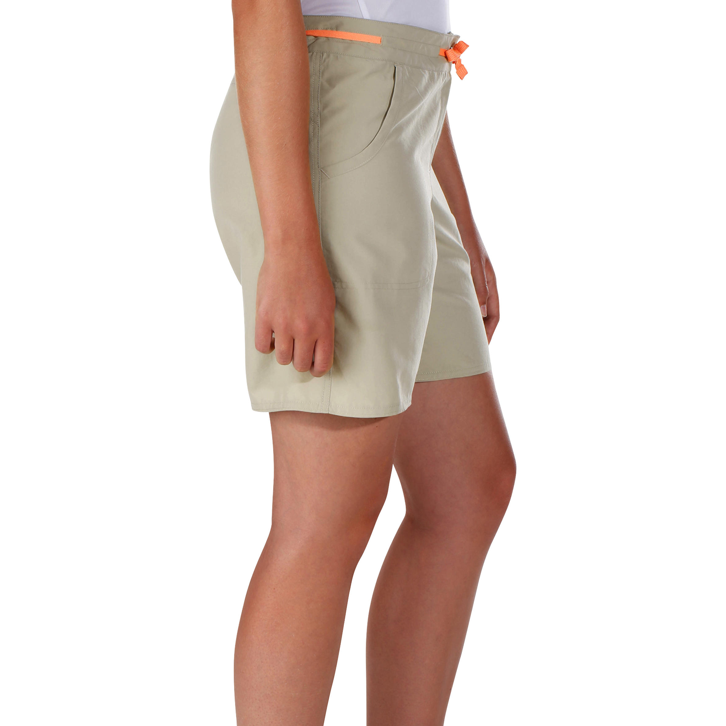 Women's Hiking Shorts Forclaz50 - Beige