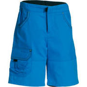 Boys' Hike 500 Hiking Shorts - Blue