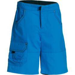 Short Senderismo niños Hike 500 azul