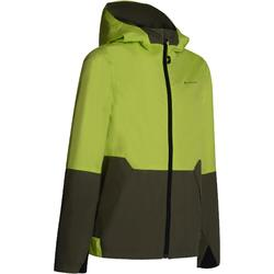 Hike 500 Children's Waterproof Hiking Jacket - Green