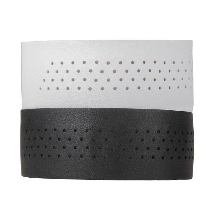 Stuurlinten tweekleurig zwart/wit