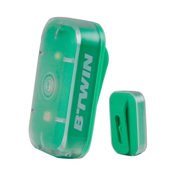 ECLAIRAGE VELO LED VIOO CLIP 500 AVANT/ARRIERE USB - 1135895