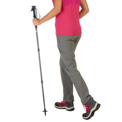500 Anti-Shock Hiking Pole - Grey/Blue