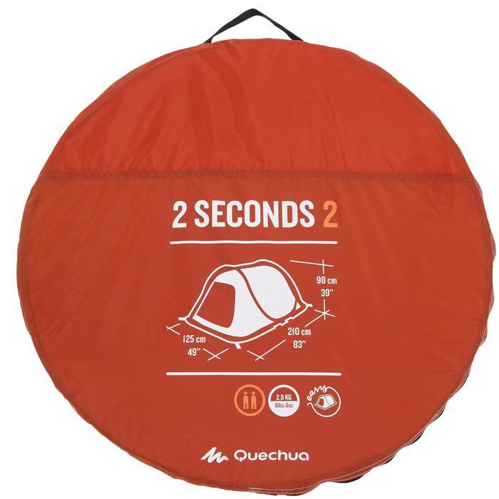 Tente de camping 2 SECONDS | 2 personnes - 1136004