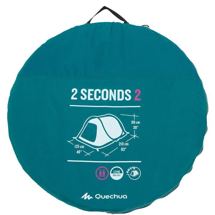 Tente de camping 2 SECONDS | 2 personnes - 1136021
