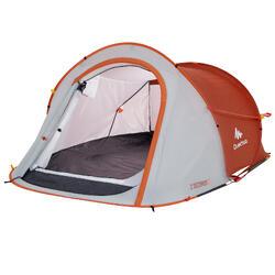 Tente de camping 2 SECONDS | 2 personnes bleue