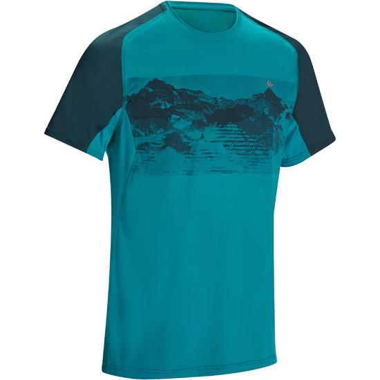 Wandel T-shirt met korte mouwen voor heren Tech Fresh 100 - 1136140