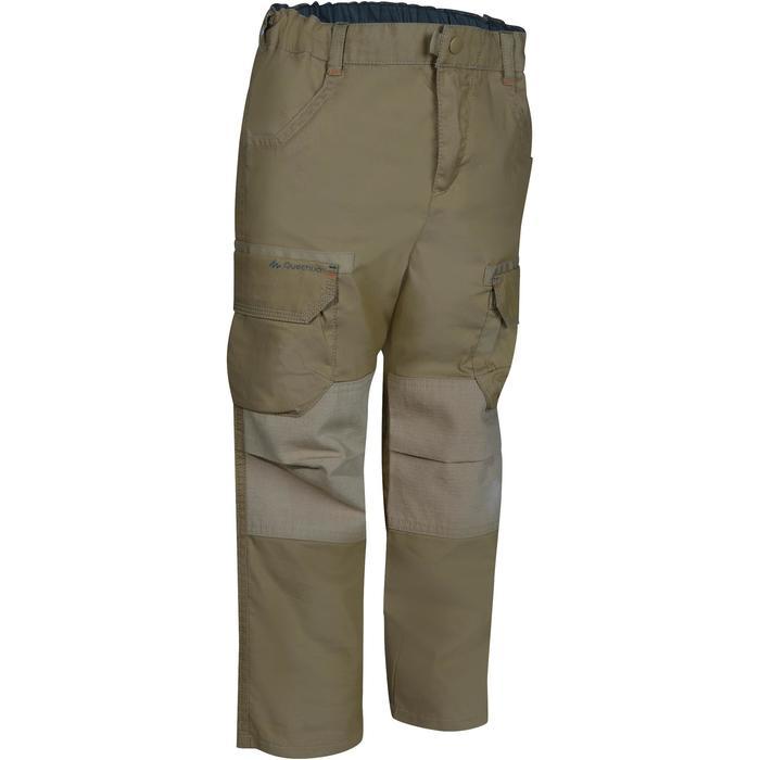 Pantalon de randonnée enfant Hike 500 marron clair - 1136150