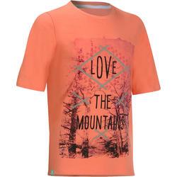 Wandel T-shirt voor meisjes Hike 500