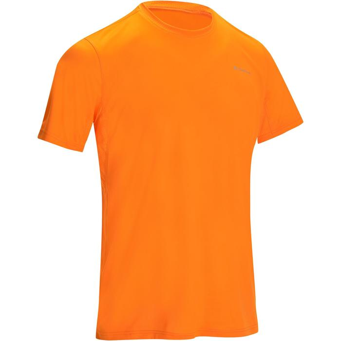 T-shirt korte mouwen trekking Techfresh 50 heren oranje