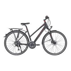 """Fahrrad 28"""" Trekkingrad Riverside 700 TR Damen anthrazit/rot"""