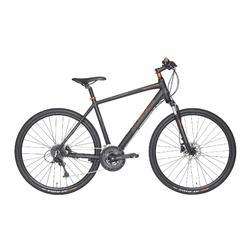 "Fahrrad 28"" Cross Trekkingrad Riverside 700 CTR Herren anthrazit/orange"