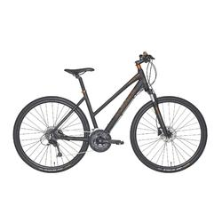 "Fahrrad 28"" Cross Trekkingrad Riverside 700 CTR Damen anthrazit/orange"
