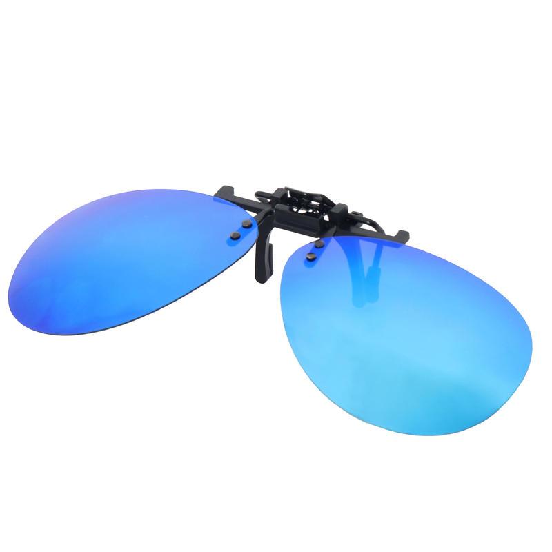 MH Adjustable Clip-on Polarized Over Glasses - OTG 120 PILOT - Category 3-blue