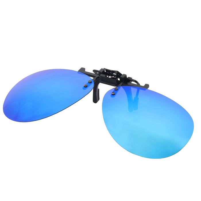 Adaptable clip-on MH ACC 120 polarising category 3 blue glasses
