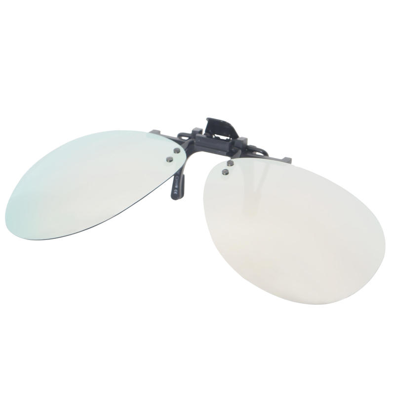MH Adjustable Clip-on Polarized Over Glasses - OTG 120 PILOT - Category 3-grey