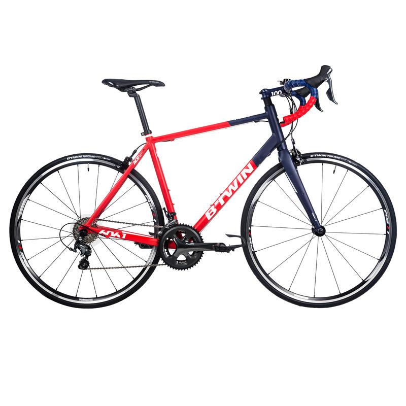 Triban 540 Road Bike - Red/Blue