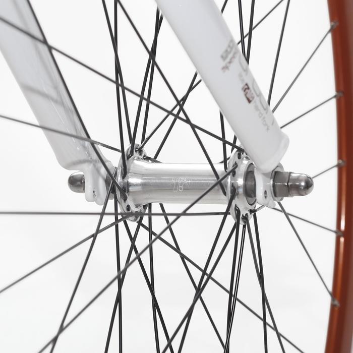 "City-Bike 28"" City Speed 500 Nexus 3 weiß/braun"