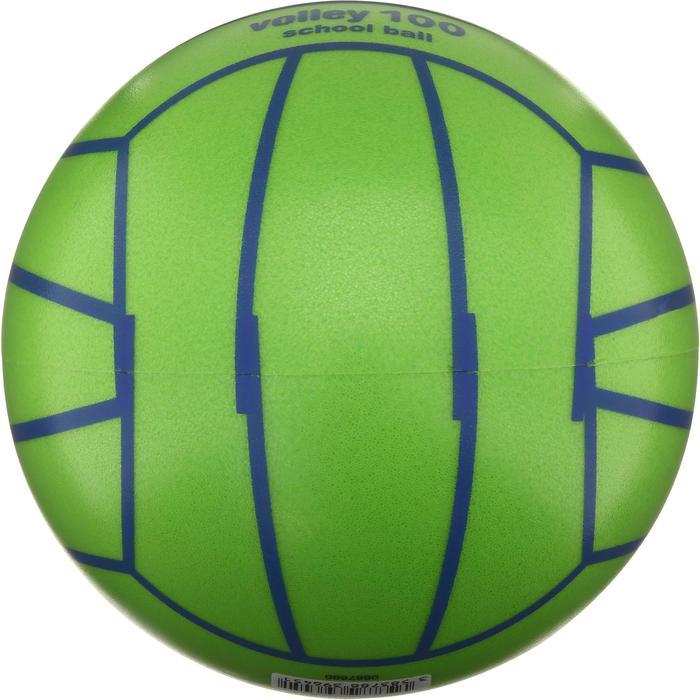 Ballon de volley-ball intérieur V100 vert