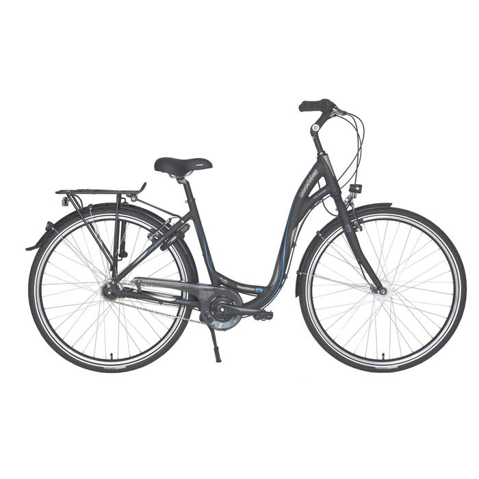 "City-Bike 28"" Hoprider 5 Nexus 7 schwarz/blau"