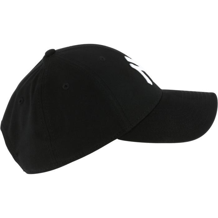 Honkbalpet voor volwassenen New York Yankees zwart
