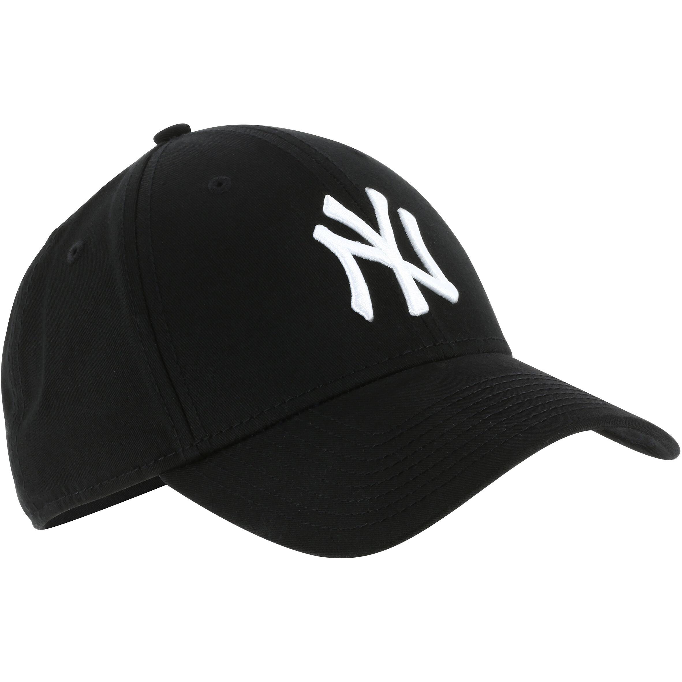 Baseballcap New York Yankees Erwachsene schwarz | Accessoires > Caps > Baseball Caps | Schwarz | New era