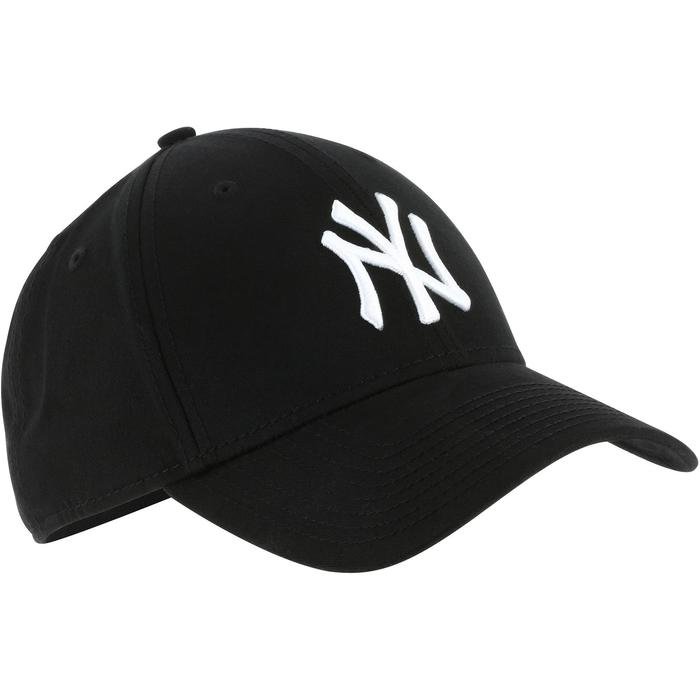 Casquette de baseball pour adulte New York Yankees noire - 1136386