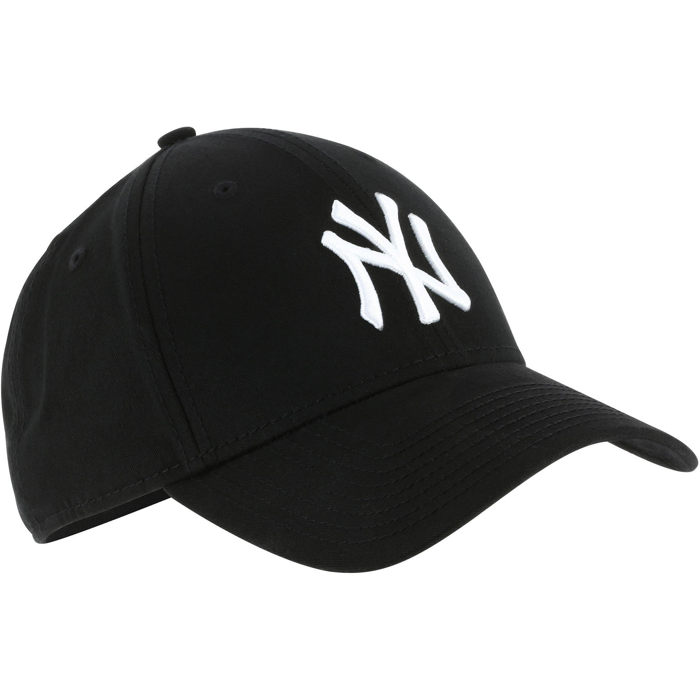afdbe23673 Gorra Béisbol New York Yankees Adulto Negro Blanco New era | Decathlon