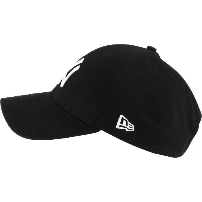 Casquette de baseball pour adulte New York Yankees noire - 1136387