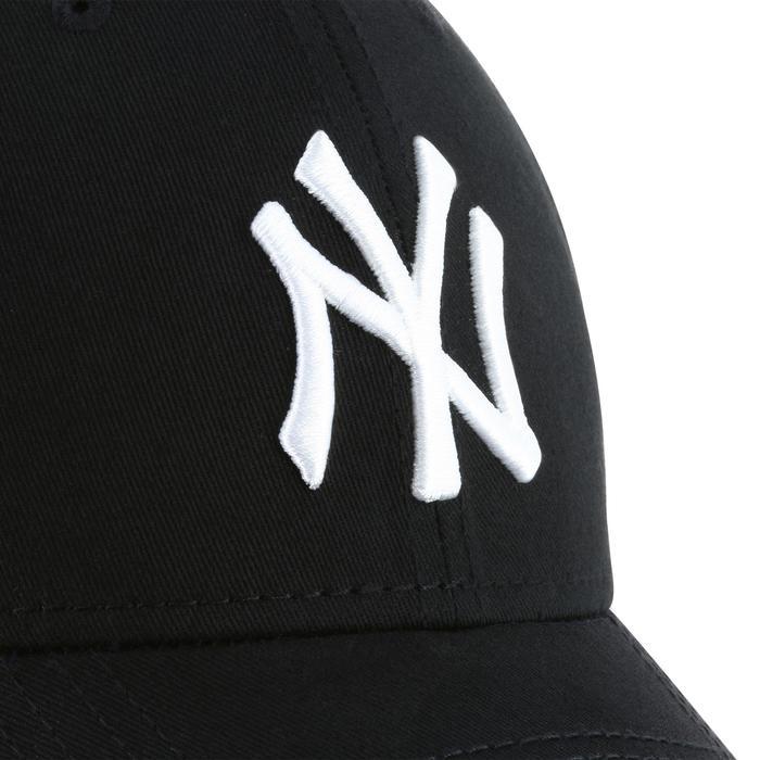 Casquette de baseball pour adulte New York Yankees noire - 1136388
